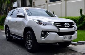 2nd Hand Toyota Fortuner 2016 Automatic Diesel for sale in Quezon City
