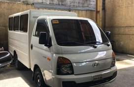 2nd Hand Hyundai H-100 2016 at 33000 km for sale in Quezon City
