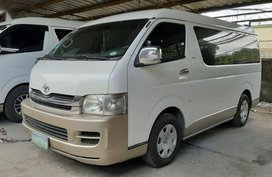 2nd Hand Toyota Hiace 2010 at 80000 km for sale in Lipa