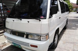 Selling Nissan Urvan 2013 Manual Diesel for sale in Guiguinto