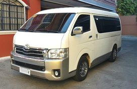 Selling Toyota Hiace 2016 at 30000 km in Quezon City