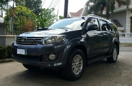 2nd Hand Toyota Fortuner 2013 at 50000 km for sale in Quezon City
