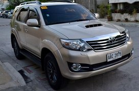 Selling Toyota Fortuner 2015 for sale in Automatic