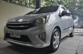 Selling 2014 Toyota Wigo for sale in Bacolor