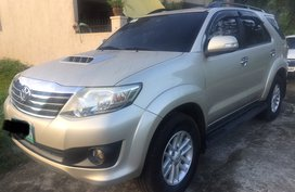 2nd Hand 2014 Toyota Fortuner Manual Diesel for sale in Calamba