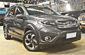 2017 Honda BR-V Automatic Gasoline at 7000 km for sale in Quezon City