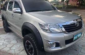 Selling Used Toyota Hilux 2012 Manual Diesel in Cabugao