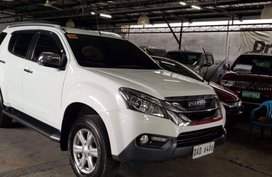 Selling 2nd Hand Isuzu Mu-X 2017 at 15000 km in Quezon City