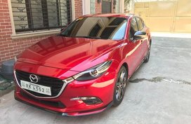 Red Mazda 3 2017 Automatic Gasoline for sale in San Juan