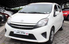 Sell White 2014 Toyota Wigo at 41000 km in Carmona