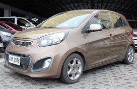 Sell Brown 2014 Kia Picanto at 21000 km in Carmona
