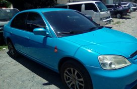 2nd Hand Honda Civic 2001 Automatic Gasoline for sale in Mandaluyong