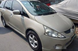 Sell Beige 2009 Mitsubishi Grandis in Quezon City