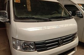 Selling Foton View Traveller 2016 Manual Diesel in Quezon City