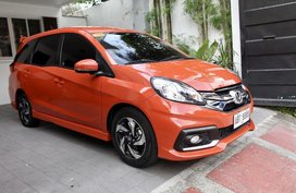 Sell 2015 Honda Mobilio Automatic 30000 km in Quezon City