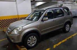 Beige Honda Cr-V 2006 at 85000 km for sale in Quezon City