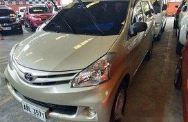 Selling Beige Toyota Avanza 2015 Manual Gasoline in Quezon City