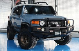 2nd Hand Toyota Fj Cruiser 2015 for sale in Quezon City