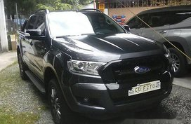 Selling Grey Ford Ranger 2017 at Diesel Automatic