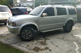 Selling Silver Ford Everest 2006 Automatic Diesel