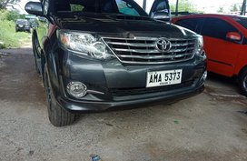 Selling 2nd Hand 2015 Toyota Fortuner Diesel Manual