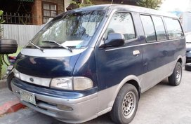 Selling 2nd Hand Kia Pregio 2001 Manual Diesel at 100000 km in Manila