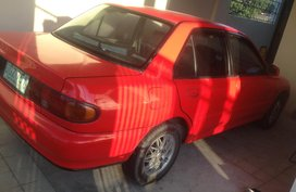 2nd Hand Red Sedan Mitsubishi Lancer 1995 for sale in San Fernando