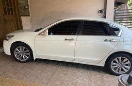 2nd Hand 2013 Pearl White Honda Accord for sale in Makati