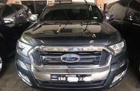 Selling 2nd Hand Ford Ranger 2016 Automatic Diesel at 30000 km in Quezon City