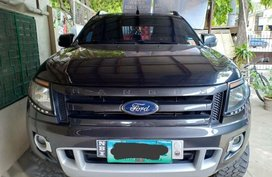Selling Ford Ranger 2014 Automatic Diesel in Bacolor