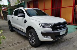 Selling 2nd Hand Ford Ranger 2017 Automatic Diesel at 30000 km in Quezon City