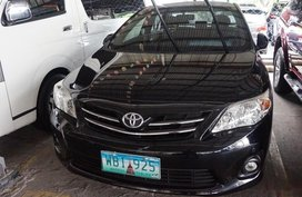 Selling Black Toyota Corolla 2013 Sedan in Manila