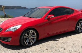Selling Red Hyundai Genesis Coupe 2012 in Makati