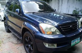 Sell Blue 2004 Lexus Gx in Pasig