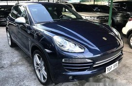 Sell Blue 2011 Porsche Cayenne at Automatic Diesel at 36000 km in Quezon City