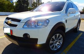 Selling 2nd Hand White 2011 Chevrolet Captiva Diesel Automatic