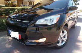 2nd Hand Black 2016 Ford Escape for sale in Quezon City