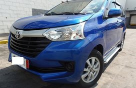 2nd Hand 2016 Toyota Avanza Blue for sale in Quezon City