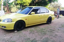 2nd Hand Yellow 1997 Honda Civic for sale in Quezon City