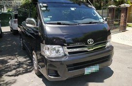 Black Toyota Hiace 2012 for sale in Manual