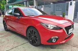 Sell Red 2015 Mazda 3 at 30000 km in Cavite City