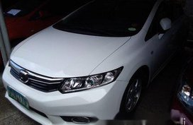 Selling White Honda Civic 2012 at 42789 km in Tanay