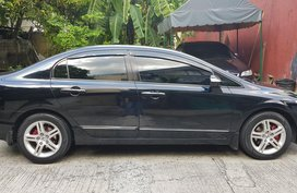 Selling Sedan Black 2006 Honda Civic in Quezon City