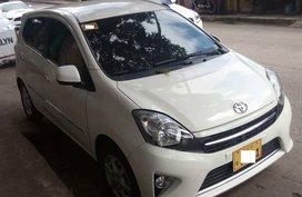 Selling White 2015 Toyota Wigo Automatic at 15000 km