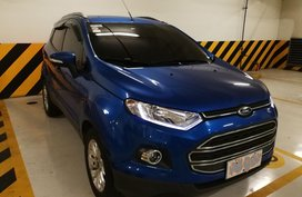 Sell 2015 Ford Ecosport Automatic Blue at 30000 km