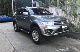 Selling Grey 2014 Mitsubishi Montero Diesel Automatic