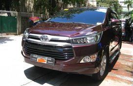 Selling Red 2016 Toyota Innova Automatic at 9000 km