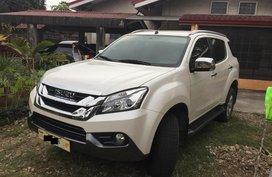 2017 Isuzu Mu-X Automatic at 18000 km for sale in Pasig