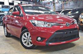 Selling Sedan Red 2017 Toyota Vios Automatic