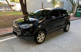 Selling 2nd Hand Black 2016 Ford Ecosport Automatic
